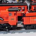 Modified LEGO Hogwarts Express Train and Carriages MOC (set 75955)
