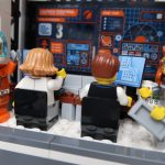 LEGO City Deep Space Rocket and Launch Control 60228 - inside mission control!