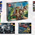 LEGO Jurassic Park: T-Rex Rampage Details and More Summer Sets coming!