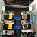 LEGO City Deep Space Rocket Launch Control 60228 Modified Interior
