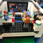 LEGO City Deep Space Rocket Launch Control 60228 Mission control Interior