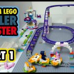 Building a Custom LEGO Roller Coaster Part 1