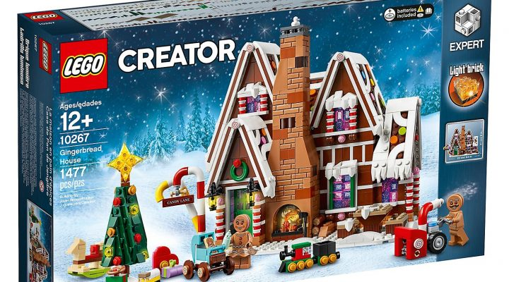 LEGO Gingerbread House 10267 box