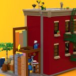 LEGO Ideas 2019 - 123 Sesame Street by bulldoozer21 - Rear view