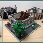 Custom LEGO MOC Sanctum Sanctorum Showdown Modular (76108) YouTube Video thumbnail