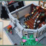 Custom LEGO MOC Sanctum Sanctorum Showdown Modular (76108) YouTube Video thumbnail 2