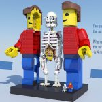 LEGO Ideas 2019 - Anatomini by Stephanix - breakdown