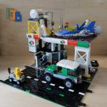 Sci-fi Spaceship Refuelling Depot and Service Station LEGO City MOC