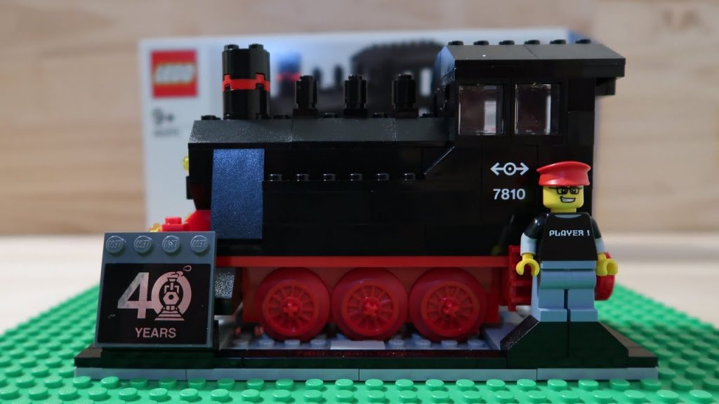LEGO 40th Anniversary Train Review (40370)