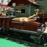 LEGO Crocodile Locomotive Video Review and Powered Up! (10277)