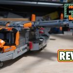 My review of the LEGO Technic Osprey 42113 is now up on YouTube