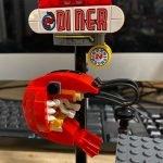 Kudos to @lego for the design of the shrimp in the Hidden Side Shrimp Shack set!