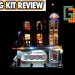 LEGO Downtown Diner Lighting kit review (10260)