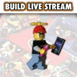 LEGO LIVE STREAM BUILD #64 - #cheeruptaz