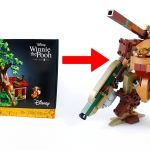 No-One steals my honey! Winnie the Pooh LEGO Mech using set 21326