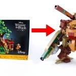 No-One steals my honey! Winnie the Pooh LEGO Mech using set 21326