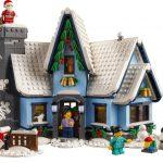 New LEGO Winter Village Santa's Visit (10293) revealed early